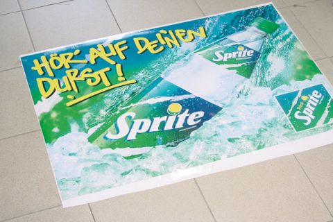 Adesivi pavimento floor graphics